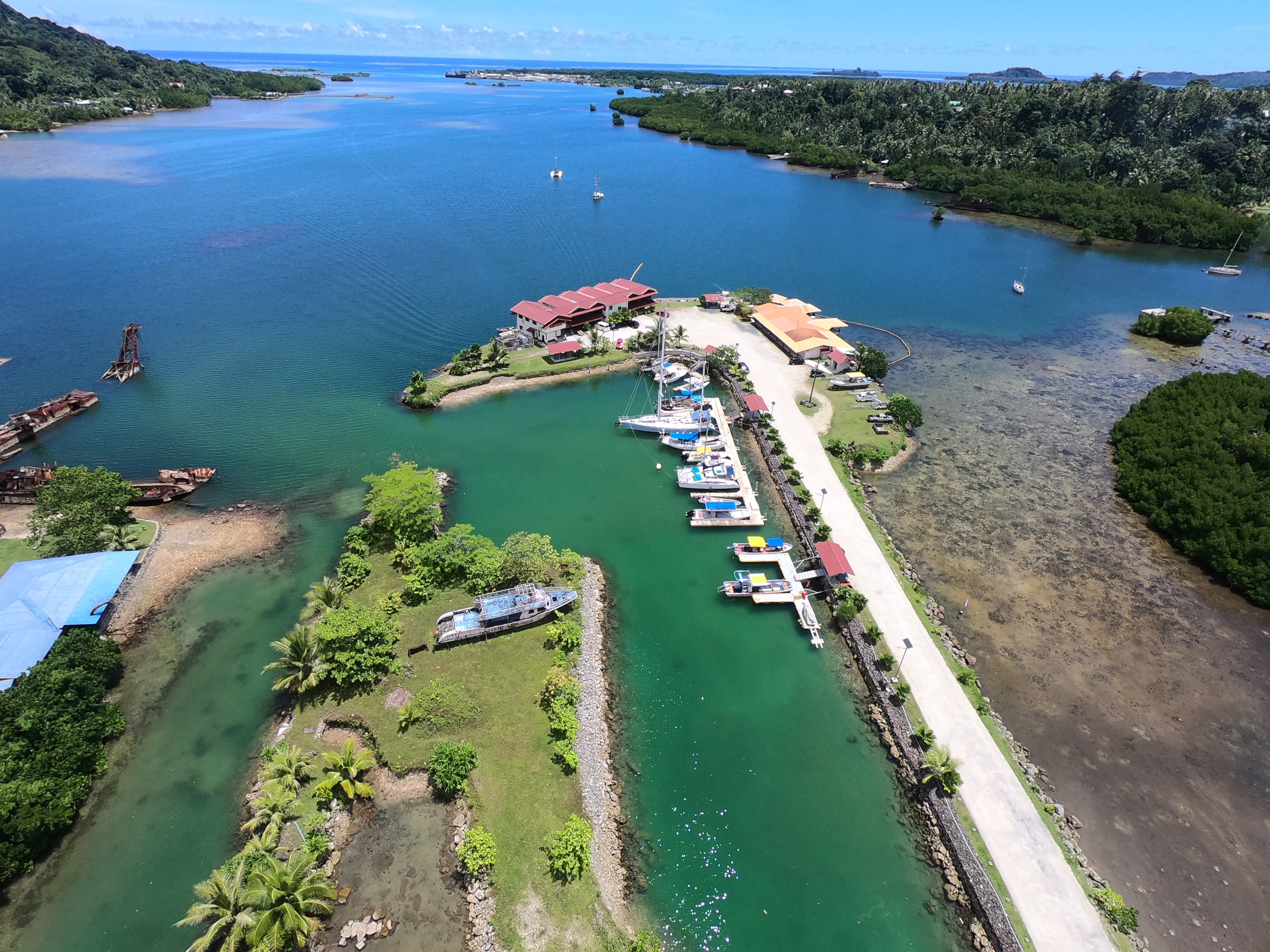 Mangrove Bay Hotel Yacht Docking offers