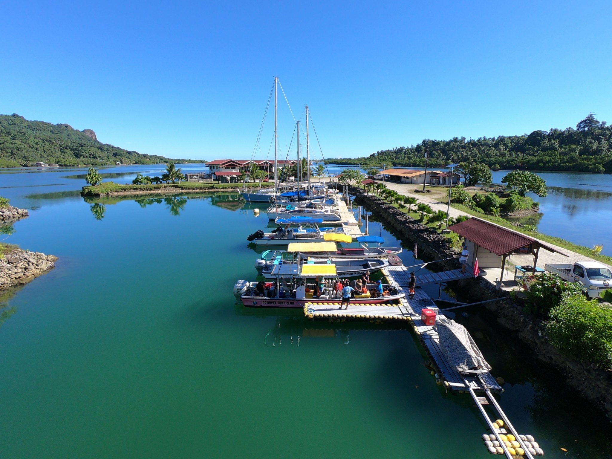 Mangrove Bay Hotel Yacht docking possibilities